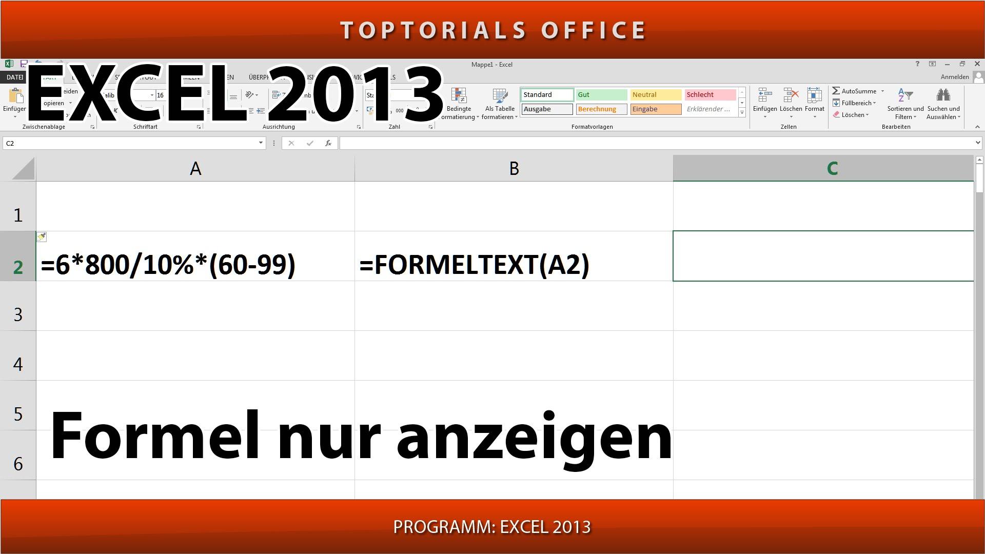 Excel Formel Suchen