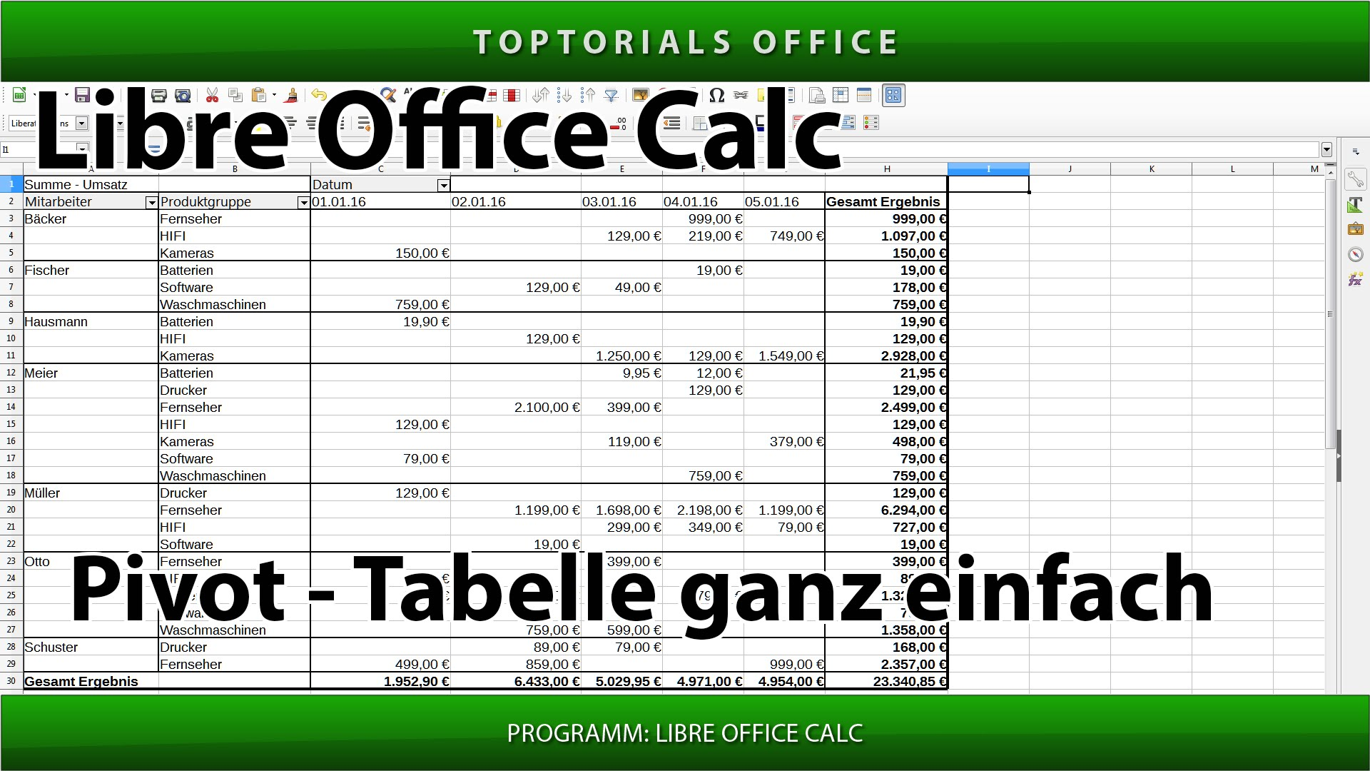 pivot tabelle ganz einfach erstellen libreoffice calc. Black Bedroom Furniture Sets. Home Design Ideas