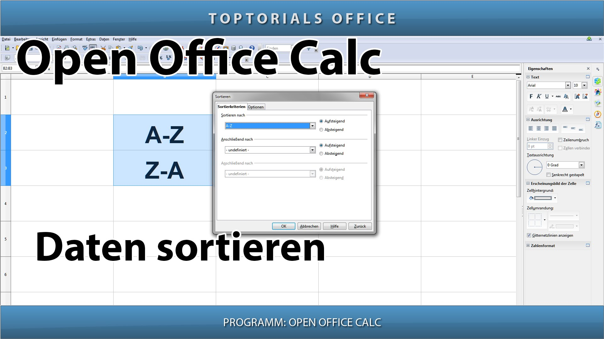 Open Office Programmierung