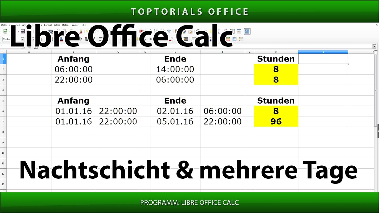 kalender datum zeit libreoffice calc toptorials. Black Bedroom Furniture Sets. Home Design Ideas