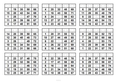 Bingo Schein
