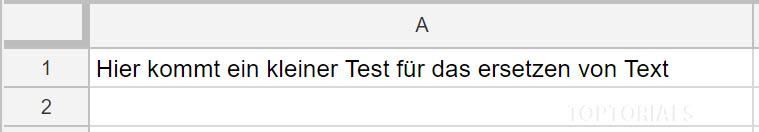 Google Script ersetzen nachher