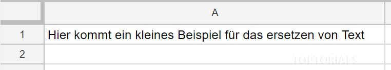 Google Script ersetzen vorher